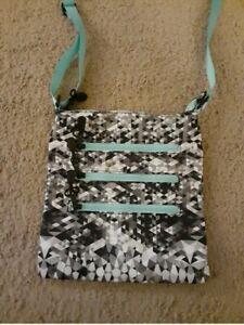 Crossbody Purse, Messenger Bag / Adjustable Straps Blue Purse