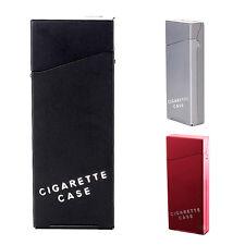 Lady Women Slim Aluminum Cigarette Case Metal Holder Box 2017