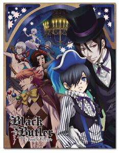 *Legit* Black Butler Ciel Sebastian Circus KeyArt Authentic Throw Blanket #57673