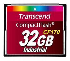 32GB Transcend CF 170 X tarjeta de memoria CompactFlash Industrial velocidad