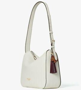 Kate Spade Anyday Medium Shoulder Bag Cream Leather PXR00248 White NWT $298 MSRP