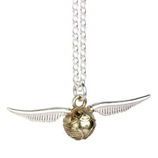Official Harry Potter Sterling Silver Golden Snitch Pendant New