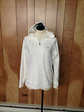 WOMEN'S UNDER ARMOUR 1/2 ZIP HOODED TOP-SIZE: MEDIUM