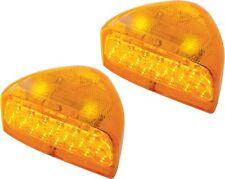 Pair of Peterbilt 379 359 Turn Signal 31 LEDs Amber Lens 38550