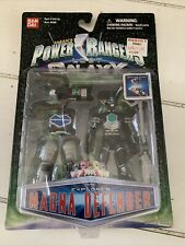 "Power Rangers Lost Galaxy 4"" Explorer Magna Defender With Armor Claw Weapon MOC"
