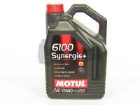 Motul 6100 Synergie+ SAE 10W40 Semi-Synthetic Engine Motor Oil 5 Liter Bottle