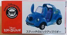 Tomica Takara Tomy Tokyo Disney Resort Pickup Buggy Stitch
