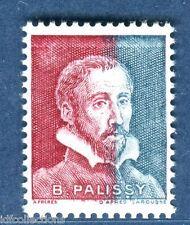 Vignette expérimentale Palissy bicolore pa27 rouge et bleu de carnet cote:80€