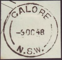 "NSW POSTMARK ""GALORE"" DATED 6/10/1948 (A11093)"