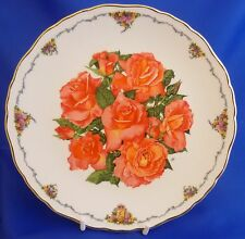 ROYAL ALBERT QUEEN MOTHER'S FAVOURITE FLOWERS COLLECTOR PLATE-ELIZABETH GLAMIS