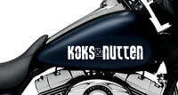 Koks & Nutten Aufkleber - ca. 30 cm