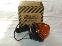 VINTAGE AUTOS 1962  DIETZ MOTOR LIGHT  178 48-A-12V AMBER TAIL LIGHT NEW IN BOX