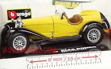 BURAGO 1:18 AUTO DIE CAST  ALFA ROMEO 2300 SPIDER 1932  MADE IN ITALY  ART 3008