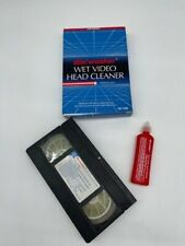 Discwasher Wet Video Head Cleaner for VHS VCR Player
