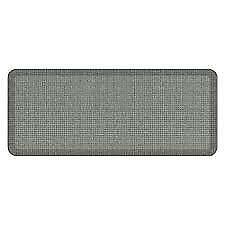GELPRO NEWLIFE 20-INCH X 72-INCH DESIGNER TWEED COMFORT MAT IN GREY GOOSE