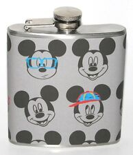 MICKEY MOUSE DISNEY DISNEYLAND PARTY BIRTHDAY BAR HIP FLASK FLASKS GIFT GIFTS