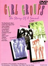Girl Groups The Story Of A Sound DVD New & Factory sealed USA Made/Shipped