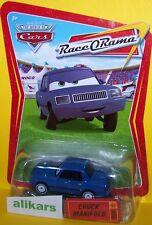 CHUCK MANIFOLD Giocattolo Mattel Cars 1:55 Disney Auto Modellini Metallo Diecast