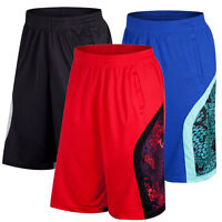 NEW Men Basketball Shorts Running Gym Sport Ourdoor Short Pants Exercise Fitness