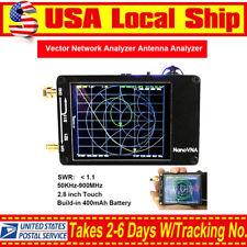 Nanovna 50KHz-900MHz Vector Network Analyzer VNA UV VHF UHF HF Antenna Analyzer
