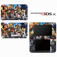 Vinyl Skin Decal Cover for Nintendo 3DS XL LL - Kingdom Hearts Final Mix II