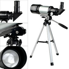 70mm Refractor Terrestrial&Astronomical Telescope+Tripod+Eyepiece for Astronomy