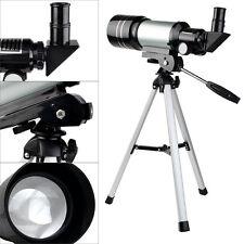 New 70mm Refractor Terrestrial&Astronomical Telescopes+Tripod+Eyepiece US Ship