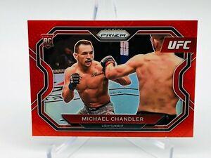 2021 Panini UFC Prizm Michael Chandler RED Rookie Prizm 145/275 Debut Edition