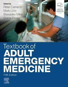NEW Textbook of Adult Emergency Medicine By Peter Cameron Paperback