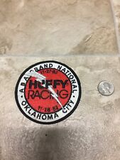 Vintage NOS Old School 80's Huffy Racing ABA Oklahoma City Embroidered Patch-BMX