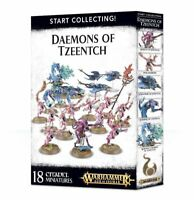 Games Workshop Age of Sigmar Warhammer 40K Start Collecting: Daemons of Tzeentch