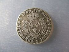FRANCIA LOUIS XV 1/10 ECU - 12 SOLS 1767 S REIMS
