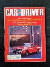 Car & Driver March 1974 - Maxda RX-4 - Ford Pinto