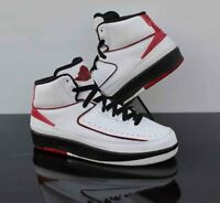on sale 062d0 2f765 Air Jordan 2 Retro GS 2010 Release White Black Varsity Red 395718-101 Size  5.5
