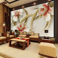 3D Wallpaper Bedroom Mural Roll Modern Lily Flower Large Wall Background Home