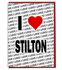 Greeting Card - Birthday Card - I Love Stilton