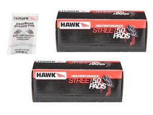 Hawk HPS 5.0 Brake Pads Front + Rear CTS-V Cherokee SRT8 Camaro ZL1 Cadillac