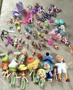 Littlest Pet Shop, My Little Pony, Disney Palace Girl Toy Lot 3lbs
