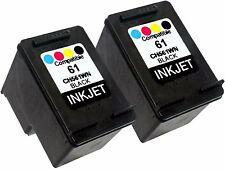 2PK FOR HP 61 HP61 CH561WN !New Gen! Deskjet 2546P 2546R 2546B 2547 2549 3000