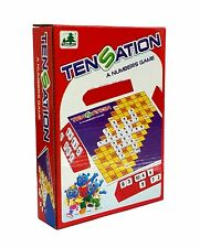 Party Family Board Game TENSATION Mathable Cross Number Fun (For 2~4 Players)