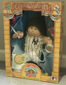 1986 Cabbage Patch Kids All Stars New York Yankees In Original Box NEW