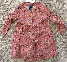Ralph Lauren Baby Girl Size XL 18-24 Months 100% Rayon Dress Floral Print