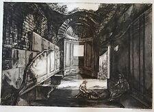 PIRANESE :  Gravure dessiné par J.B. PIRANESI , gravé par F. PIRANESI.1805 (3)