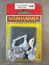 Centaure Taureaux Nain Du Chaos Warhammer Centaur Bull Dwarf Metal Axe 1995