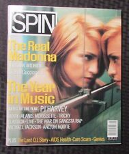 1996 SPIN Magazine January MADONNA Cover VF+