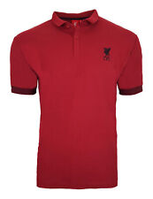 Official Liverpool FC Heritage Football Polo Shirt Mens Large Retro LP1