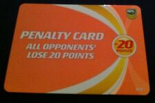 NRL Power Play Game Bronze Penalty Card 1 in every 12 Packs Rare Nrl Cards New