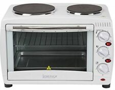 Igenix IG7126 26L Tabletop Mini Oven and Grill with Double Hotplates/Hobs A00032