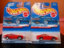 hot wheels ferrari 365 gtb/4 and 550 maranello 2000 first editions