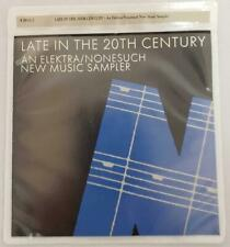 = Late In The 20TH Century An Elektra/Nonesuch New Music Sampler CD 979171-2